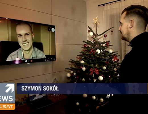 Szymon Sokół - rozmowa w Polsat News o filmie Kevin sam w domu